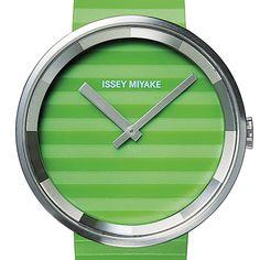Please watch by Jasper Morrison for Issey Miyake. See more designer watches at Dezeen Watch Store: www.dezeenwatchstore.com #watches