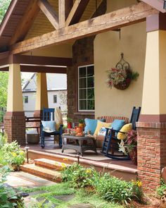 An inviting wraparound porch from our July/August 2016 issue
