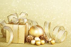 Gold Christmas Background   Gallery Yopriceville - High-Quality Images and Transparent PNG Free Clipart