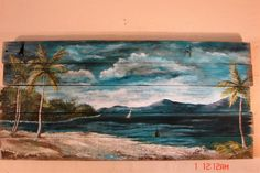 Check out this item in my Etsy shop https://www.etsy.com/listing/465008545/tropical-beach-ocean-seacape-painting-on
