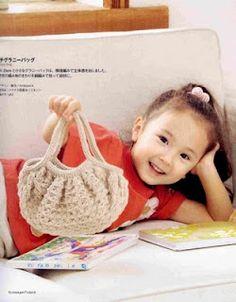 Bolsas a crochet para niñas