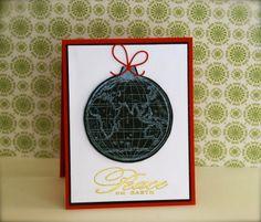 stamping> hero arts world ornament - Google Search