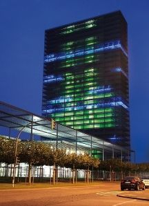 Bayer Media Facade -Leverkusen, Germany