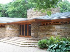Kentuck Knob, Frank Llyod Wright This guy designed his houses to be apart of nature, house actually built into the side of mountain