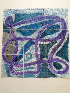 Joey's Challenge #186 9/9 using Pokeleaf.  All tiles