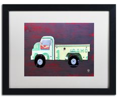 Pickup Truck by Design Turnpike Framed Graphic Art