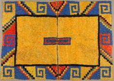 Perú - Cultura o Pre reino Wari, tunica o manto de plumas -Jhabich