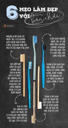 Mẹo chăm sóc da và tóc cực hay chỉ với... bàn chải đánh răng - Ảnh 1.