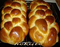 Czech Recipes, How To Make Bread, Christmas Cookies, Bread Recipes, Bakery, Sweet Tooth, Food And Drink, Cooking, Hampers