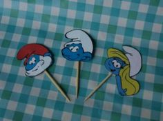 Smurfen prikkers via www.fifafeestje.nl
