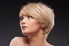 short hair blonde sh