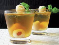 Iced Jasmine Green & Lychee Tea