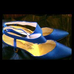 Michaelangelo Teal Blue Heels in the Poshmark closet! My username is: thesilkcloset1. #shopmycloset #poshmark #fashion #shopping #style #forsale #Shoes