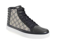 'Common' high top sneaker by Gucci