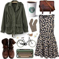 Daisies by hanaglatison on Polyvore