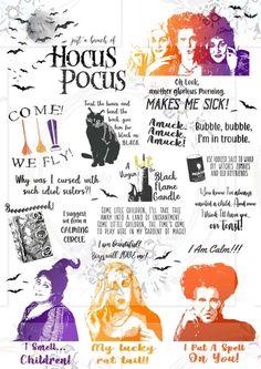 All Things Hocus Pocus Fall Halloween, Halloween Crafts, Halloween Decorations, Halloween Table, Halloween Signs, Halloween Halloween, Vintage Halloween, Halloween Makeup, Halloween Costumes