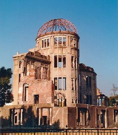 Hiroshima Peace Memorial, commonly called the Atomic Bomb Dome or A-Bomb Dome, in Hiroshima, Japan, is part of the Hiroshima Peace Memorial Park and was designated a UNESCO World Heritage Site in 1996.