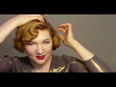 4 Pin-Up Girl Hair Tutorials for Medium to Short Hair