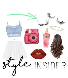 """""""Style insider POLYVORE"""" by tally-stew ❤ liked on Polyvore featuring Lipsy, RED Valentino, Robert Rose, Lime Crime, Victoria's Secret, contestentry and styleinsider"""