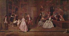 L'Enseigne de Gersaint - Antoine Watteau - 1720