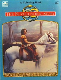 The never ending story coloring book