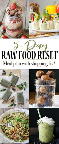 21 awesome raw food recipes for beginners to try raw food diet 5 day raw food reset forumfinder Choice Image