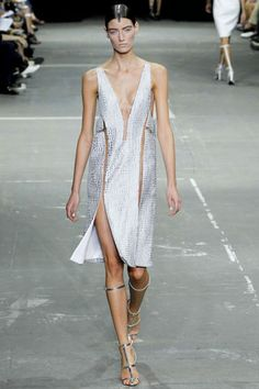 More skin less fabric dress #S2013 #NYFW