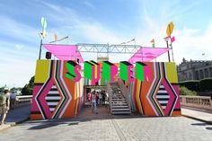 The Pavilion by Morag Myerscough and Luke Morgan: 2 тыс изображений найдено в Яндекс.Картинках