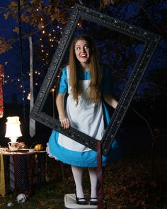 Where's the White Rabbit? A fun Alice in Wonderland photo shoot by Abundantly More.