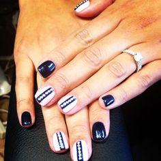Cute nail design with stud nails by Vicky | Nail cute nail designs
