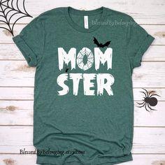Fall Shirts, Mom Shirts, Cute Shirts, T Shirt Designs, Halloween Outfits, Diy Halloween Shirts, Couple Halloween, Halloween Fun, Halloween Fashion