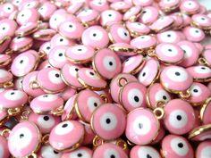 Eyes Wallpaper, Evil Eye Charm, Goddesses, Charms, Bubbles, Etsy Shop, Bracelet, Phone, Summer