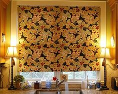 make your own no sew faux roman shade, diy, home decor, reupholster, window treatments
