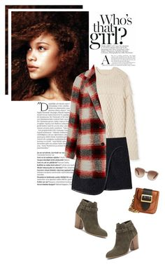 """""""Autumn days"""" by beautifullylovely ❤ liked on Polyvore featuring Balmain, Tory Burch, Rebecca Taylor, Madewell, Sole Society, Chloé and Burberry"""