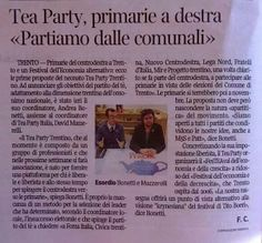 """""""Tea Party, primarie a destra: partiamo dalle comunali"""" - (Il Corriere del Trentino - 12 gennaio 2014)"""
