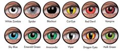 Special Effects Contact Lenses Zombie Eyes, Zombie Halloween Makeup, Halloween Contacts, Scary Halloween, Halloween Costumes, Vampire Eyes, Vampire Look, White Out Contacts, Colored Contacts