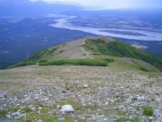 Lazy Mountain trail/hike, Palmer AK  5 miles round trip 3-4 hours May - October best time Short but strenuous especially first section