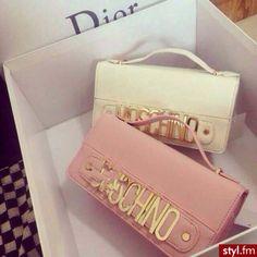 Moschino Designer Brand Purse Luxury Quality