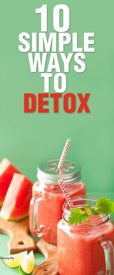 Cleanse your body of any toxins that can build up from eating refined sugar, drinking alcohol, or eating fatty foods. Here are 10 Simple Ways to Detox!