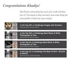 Achieved 5 awards on Pixoto.com
