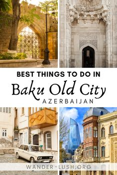Complete Guide to Baku Old City, Azerbaijan : Baku's historic core, the walled Old City or Icherisheher, is a must-visit in Azerbaijan. This guide to Baku Old City shows you 15 things you absolutely can't miss, plus practical tips for planning your visit. Cool Places To Visit, Places To Travel, Places To Go, Travel Destinations, Travel Things, Travel Diys, Azerbaijan Travel, Baku Azerbaijan, Usa Travel