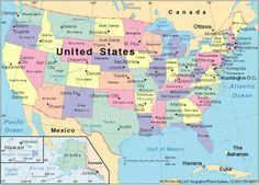 cool Map Usa