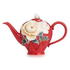 "Image detail for -Franz Porcelain Collection ""Venice"" Peony Design Sculptured Porcelain ..."