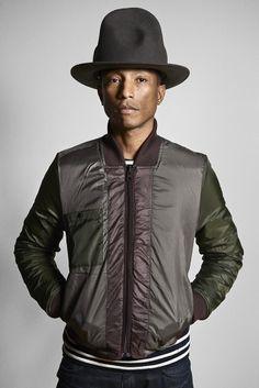 菲董 Pharrell Williams 戴帽技巧大公開!嘻哈文化代表「山丘帽」故事~ - JUKSY 線上流行雜誌