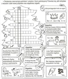Learn Polish, Asd, Kids Christmas, Coloring Pages, Bullet Journal, Classroom, Teaching, Education, School