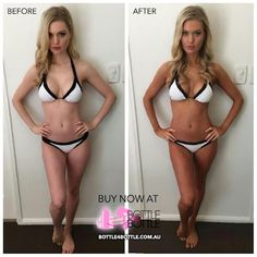 Aussie Bombshell is seriously good spray tan.
