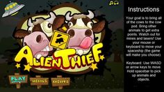 Alien Thief - cool math games | games for kids to play online