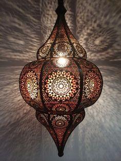 Cool Orientalische Marokkanische Arabische H ngeleuchte Deckenlampe Lampe Laterne NEU