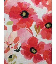 Knit Fabric 57\u0027\u0027-Coral Mod Floral,