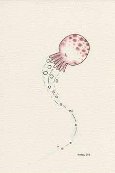 Tako...a wee cephalopod from the tomodachi series.  © 2013 Tamara David